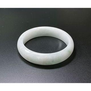 🚚 Type A Natural Untreated Burma Jadeite Bangle