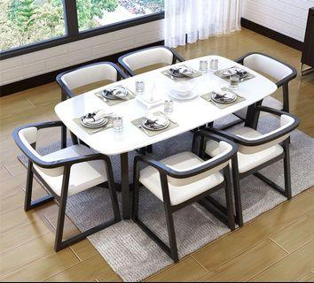 Man Made Marble Dining Table