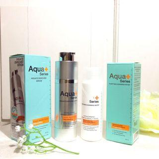 Aqua+ Serum FREE Cleansing Water (Aqua+ Series Privated Enriched Serum FREE Aqua+ Series Cleansing Water)