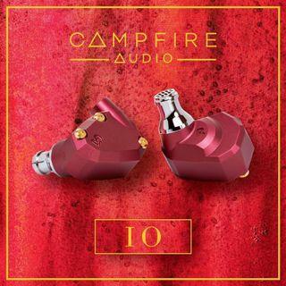 全新 Campfire IO 新設計 双動鐵 耳機 不鏽鋼濾嘴可以換線 MMCX 插頭 跟機鍍銀銅線