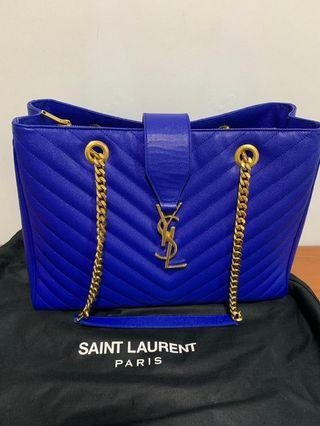YSL Shopping Tote Bleu Majorelle