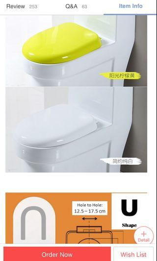 BN Toilet Bowl Cover - Soft Close - White Colour