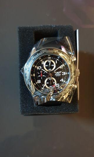 Aviator F series world time tachymetre chronograph