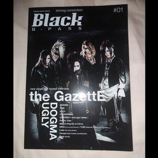【 日本V系音樂雜誌】Black B-PASS #01/封面封底 the GazettE(2015年9月)