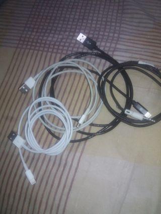 Kabel iphone original 2 pcs & kabel acesories