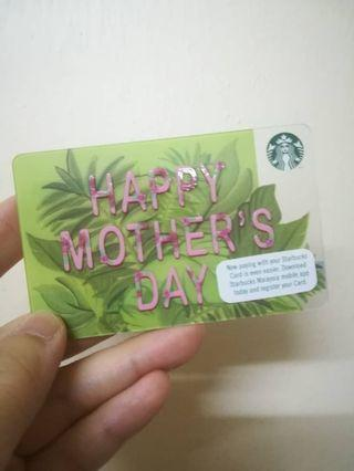 Starbucks mother's day Cards