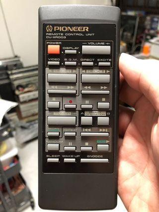 Pioneer Audio Remote Control