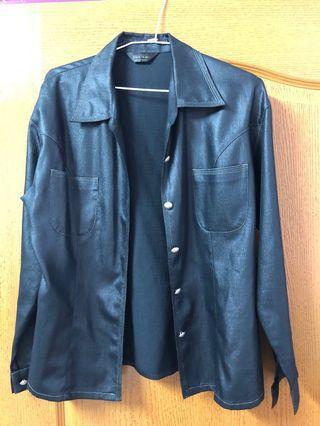 🚚 黑色襯衫外套🧥