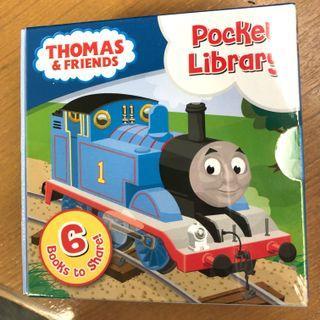 (New) 一套六冊Thomas & Friends Pocket Library