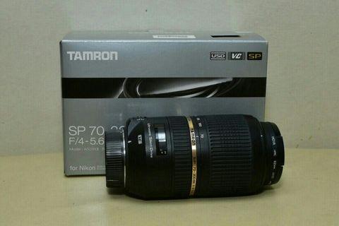 TamronSP 70-300mm f/4-5.6 Di VC USD Nikon mouth