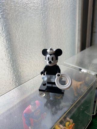 第2代LEGO迪士尼人偶-黑白米妮