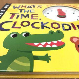 (New) 兒童學睇時鐘書 What's the time Clockodile