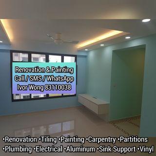 🏘️Full Renovation/Painting Services! Home Improvement! Big and Small Projects! 装修/油漆服务!大小型工程项目!🏘️