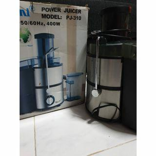 🚚 Electric Power Juicer