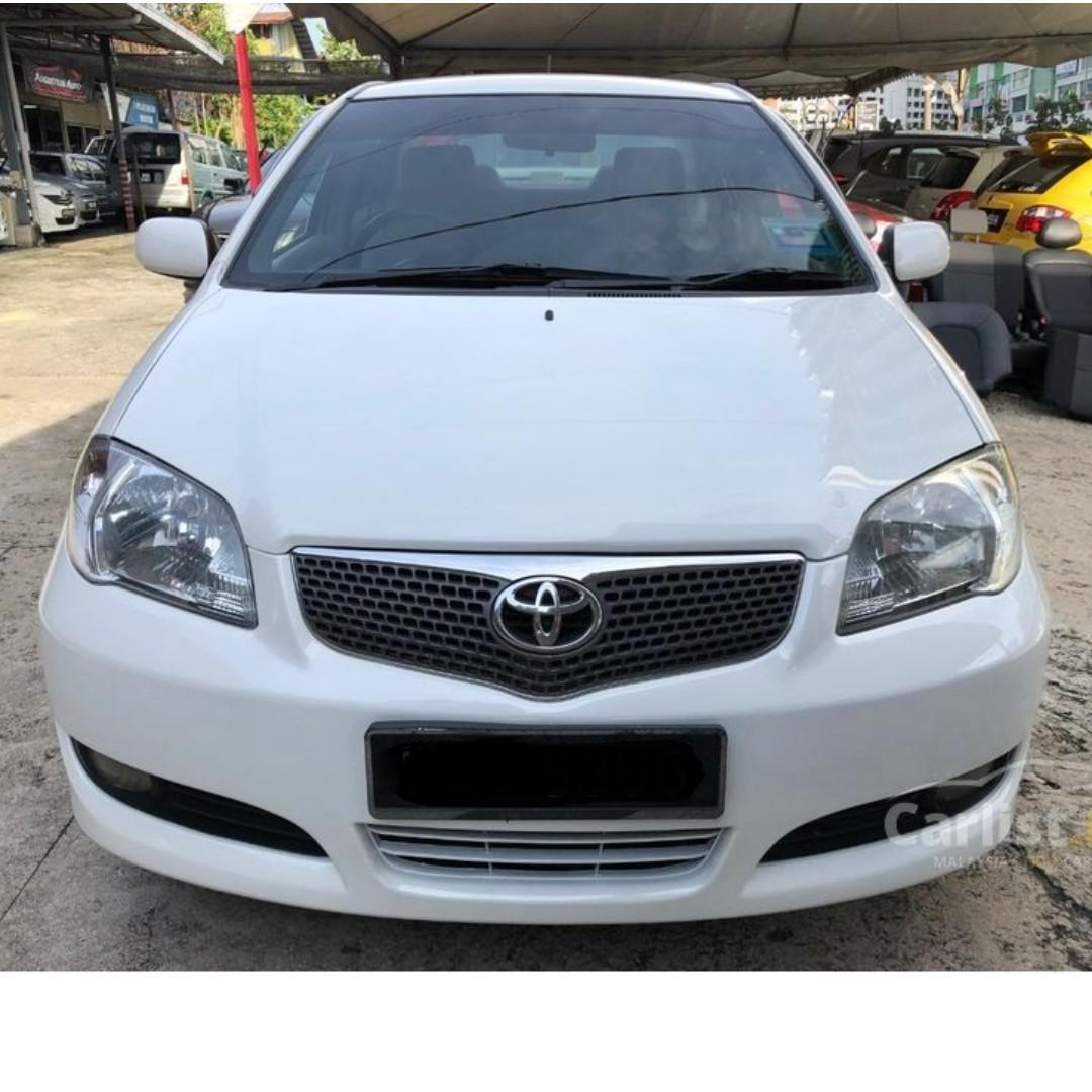 2007 Toyota Vios 1.5 E (A) One Owner Crystal White