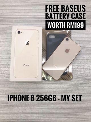 iPhone 8 256GB - MY set