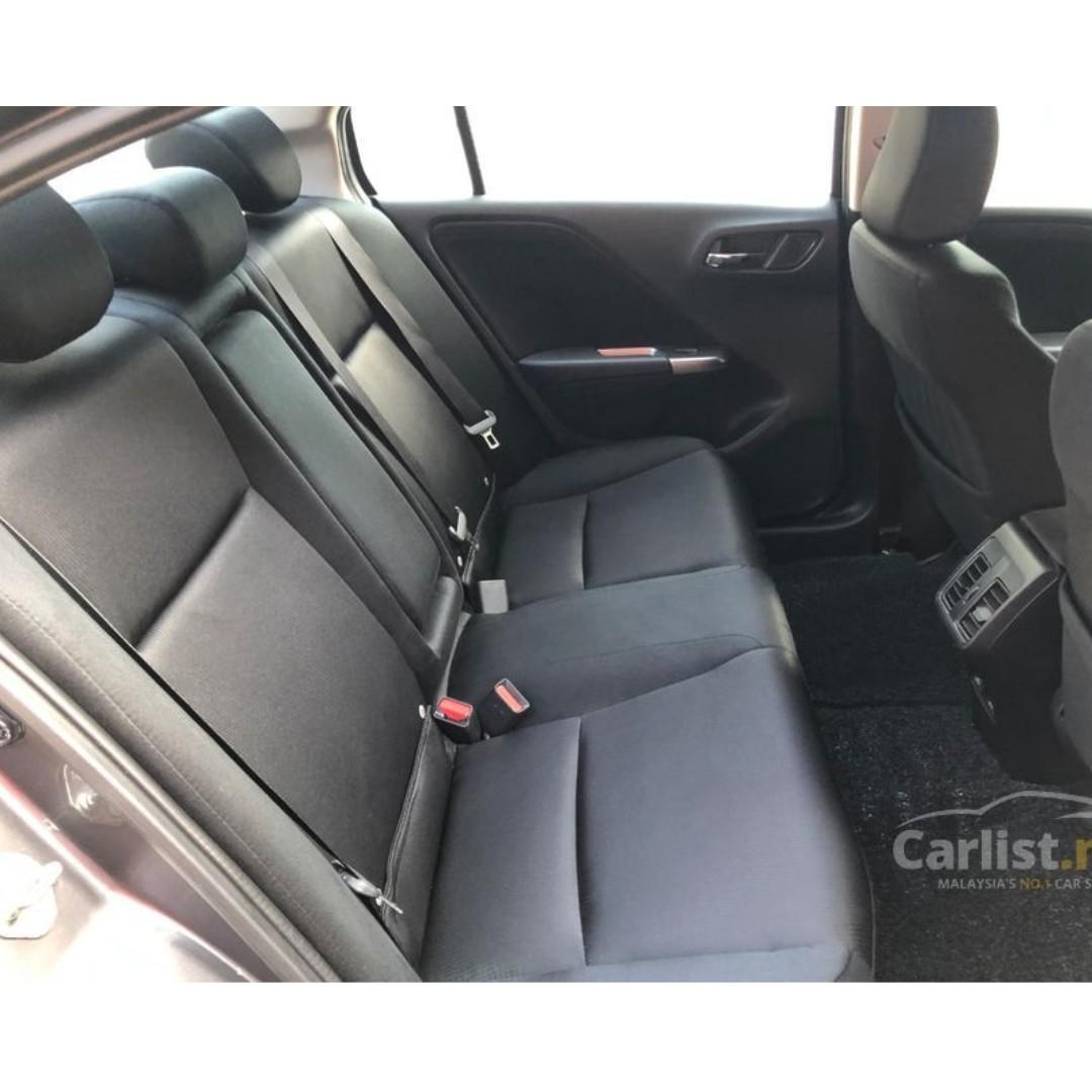 2014 Honda City 1.5 V (A) One Owner Modulo Bodykit DVD Reverse Camera Full Honda Service