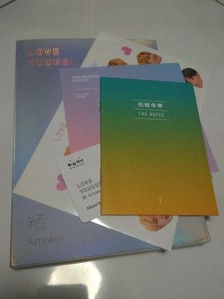 WTS : BTS LOVE YOURSELF : ANSWER UNSEALED S VERSION ALBUM