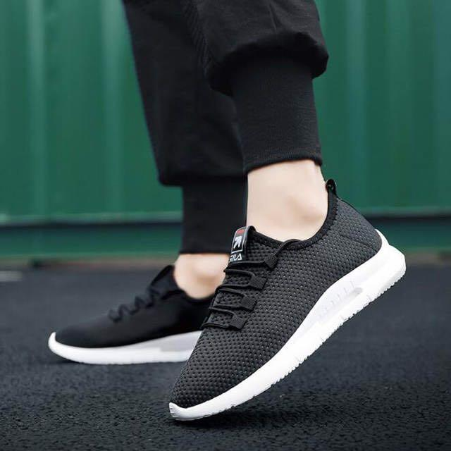 2019 lightweight male casual shoes fashion fly weave breathable air mesh men sneakers summer comfortable walking shoes39-44 H159
