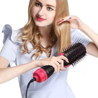 Professional hair brush dryer