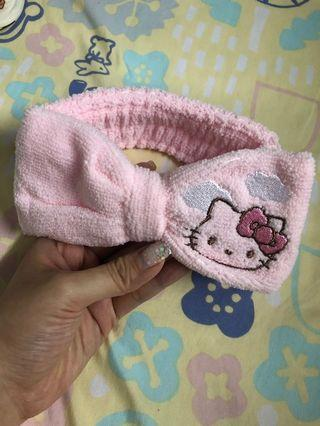 Hello kitty hair band頭帶