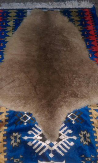 Kulit Bulu Tasmania Genuine Kangaroo Fur Leather Rare