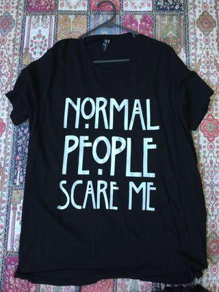 American horror story, normal people scare me