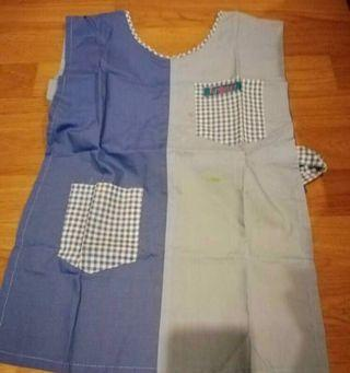 Fungates kid apron for art with 2 pockets