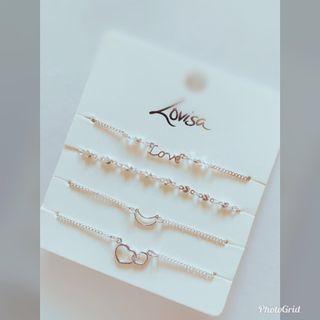 🚚 澳洲帶回-澳洲LOVISA 飾品品牌 精美手鍊 單一購入