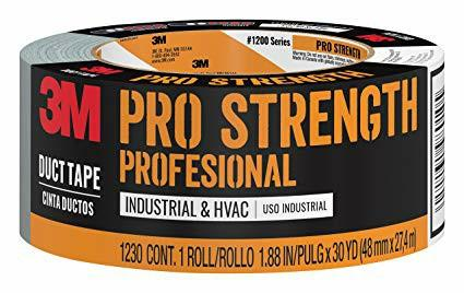 "3M Duct Tape Pro Strength Strong Professional 1.88"" x 30 YD"