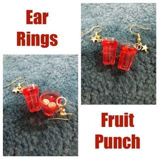 Earrings-Fruit Punch (Free Local Normal Mail)