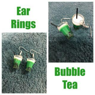 Earrings-Bubble Tea (Free Local NORMAL Mail)