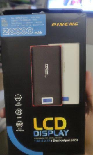Pineng PN-920 LCD Display 20000mAh Power Bank Fast Charging