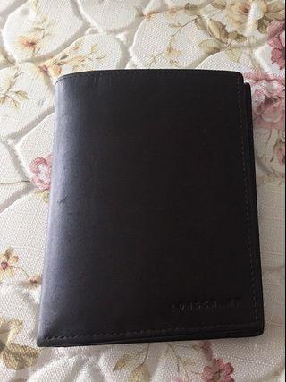 Longchamp BAXI small tri-fold wallet card holder