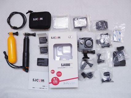 SJCAM SJ4000 + WIFI & FREE Mini Bag Case (Black)