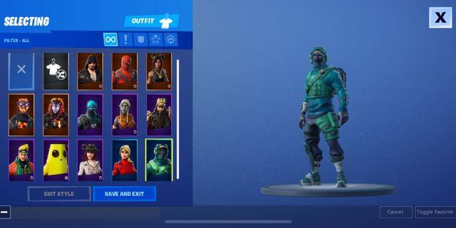 🚚 Fortnite account with relax skin(able to bargain)