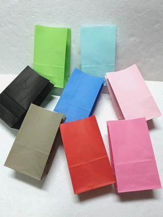 (S) Paper Bag ↪ Plain 🛍🛍 💱 $5.00 Each Packet - 20 Pieces
