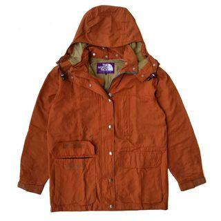 The north face purple label mountain parka