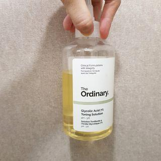 The Ordinary Glycolic Acid Toning Solution 7%