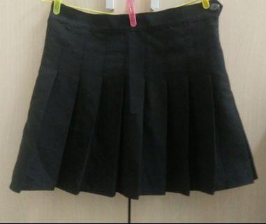 百褶裙 短裙