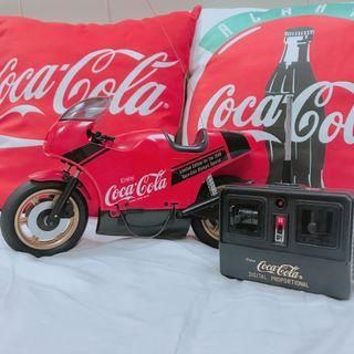 🚚 可口可樂 絕版 1988遙控摩托車