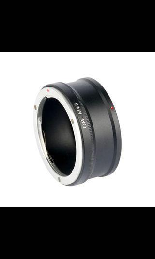 OM-M4/3 Adapter for OM Camera Lens Mount to Micro 4/3 MFT GX1 EP5 E-M5 EM1