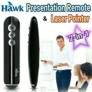 包順豐📮 PowerPoint遙控器+laser pointer 2合1 鐳射激光簡報翻頁筆 remote clicker presenter