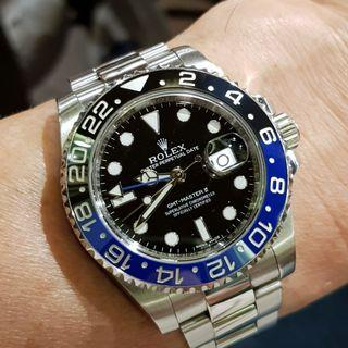 Rolex GMT Master II 116710 BLNR complete mint set