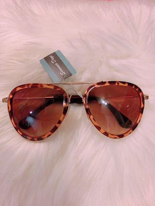 🚚 大框眼鏡太陽眼鏡豹紋墨鏡