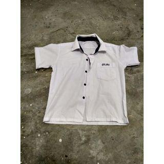 White Gan Eng Seng Primary School Shirt 32 Inches (Label Size 26)