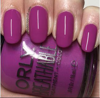 Orly Breathable Polish + Treatment. Give Me A Break 20915. Halal Certified