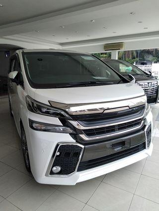 ON THE ROAD TOYOTA VELLFIRE 2.5Z A-EDITION 2016