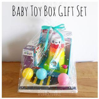 Newborn Baby Toy Box Gift Hamper Set