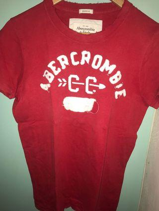 🚚 Abercrombie & Fitch Tee muscle